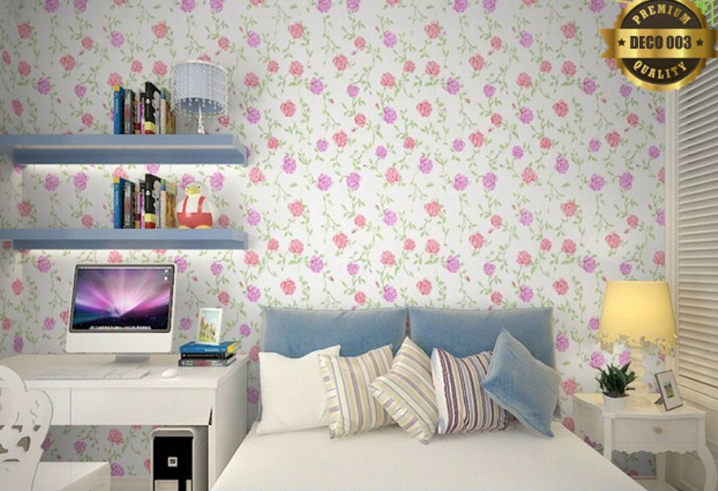 4 Wallpaper dari Kertas Kado