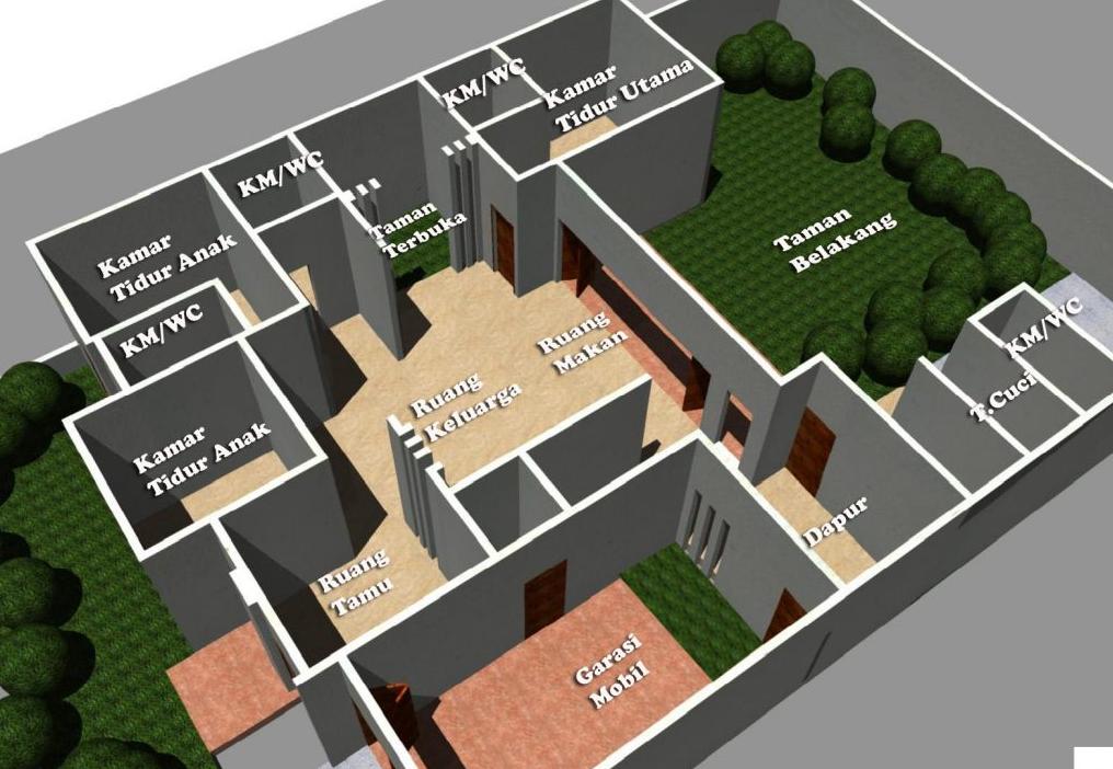 Cara Membuat Denah Ruangan Rumah Sebagai Rancangan Awal Pembangunan