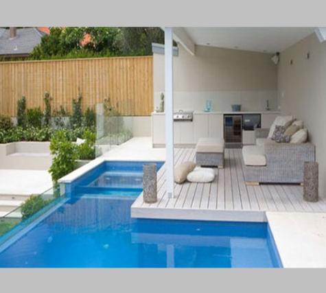 desain kolam renang untuk rumah minimalis - kontraktor